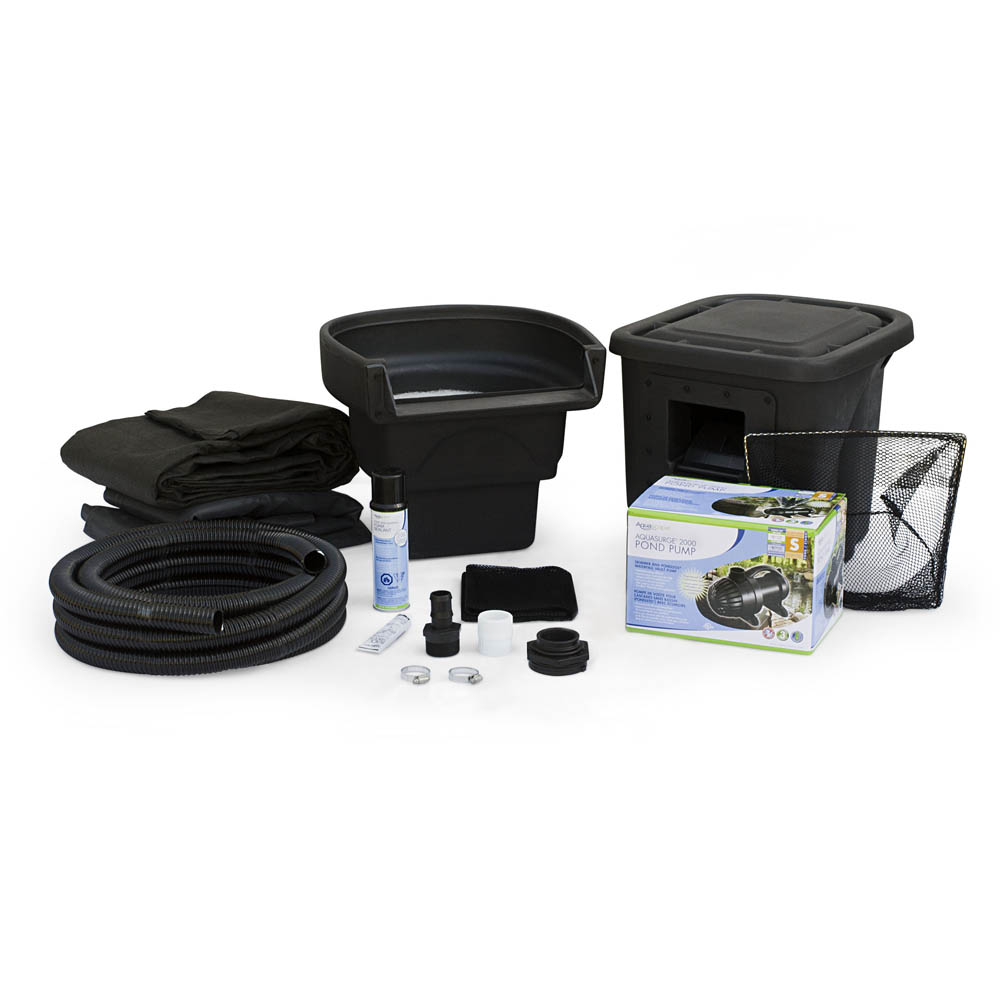 Aquascape diy micropond kit sheerwater pond supply for Ornamental fish pond supplies