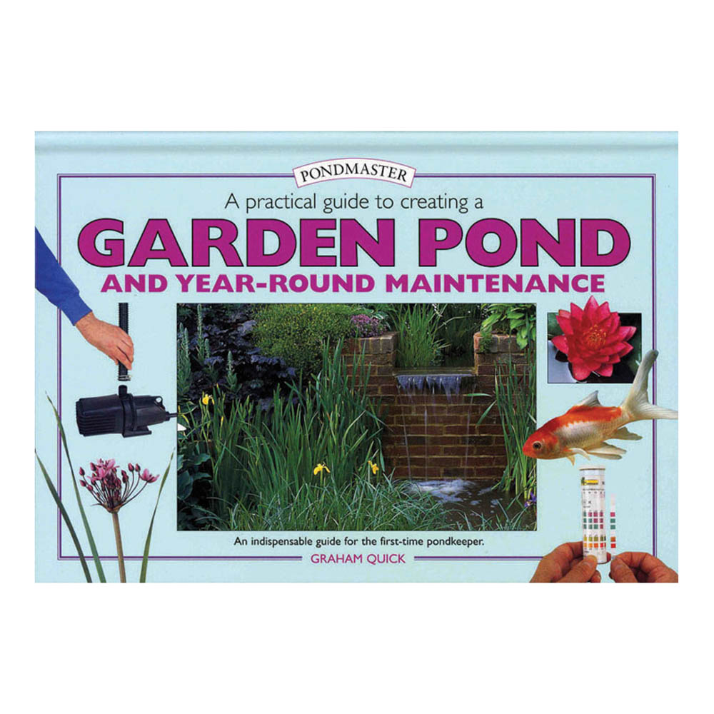 Pondmaster a practical guide to creating a garden pond for Ornamental fish pond supplies