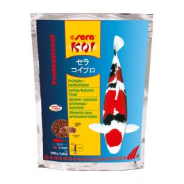 7013-Sera Koi Professional Spring Autumn food 2200 g