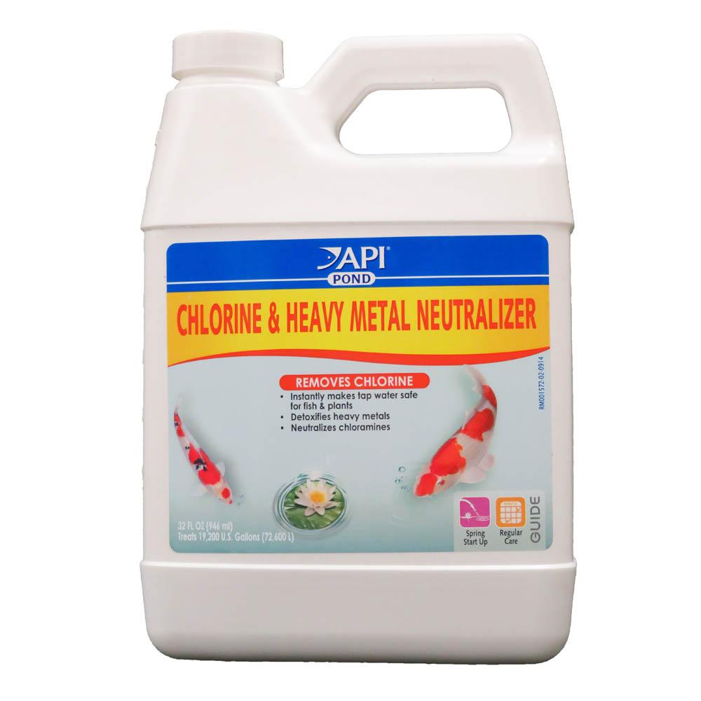 Aquarium Pharmaceuticals Chlorine Heavy Metal