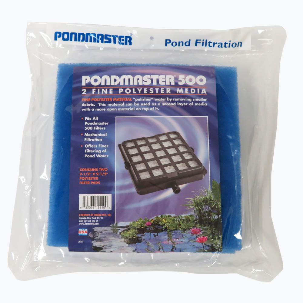 12210-Pondmaster-2pack-blue-poly-filter-pm500