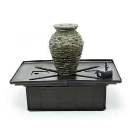 58060_Aquascape-Mini-Stacked-Slate-Urn-Fountain-Kit